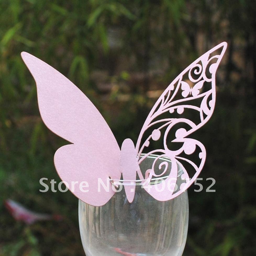 Segnaposto farfalla appunti di matrimonio for Immagini farfalle da ritagliare