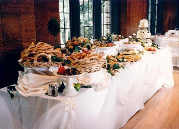 L arte del ricevere organizzare un buffet appunti di for Casa jardin buffet