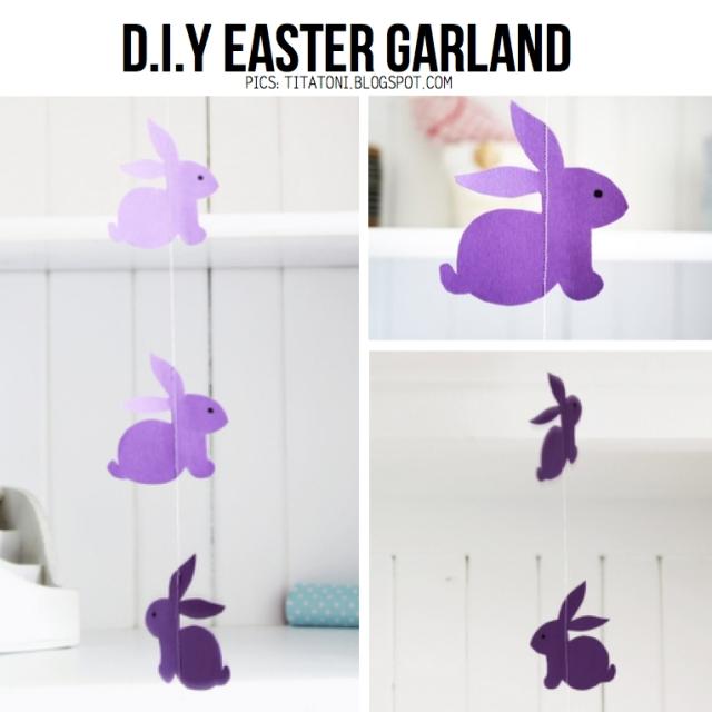 Easter-garland