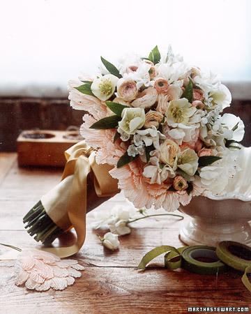 hellebore bouquet from Martha Stewart Weddings