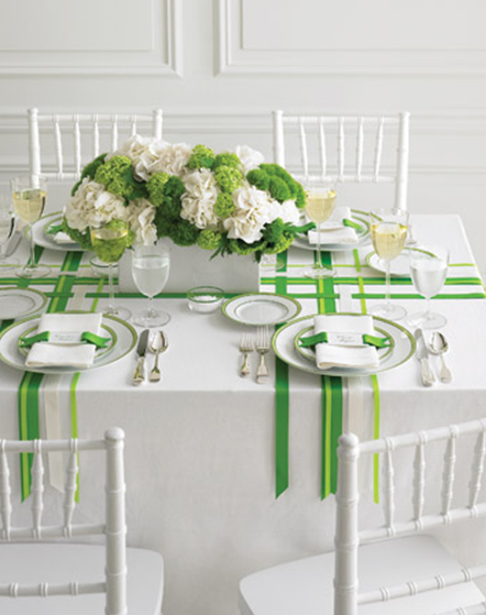 ribbon table
