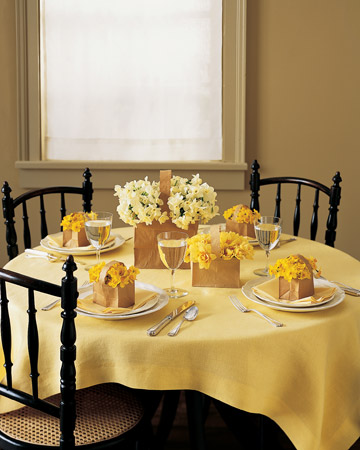 table setting martha stewart