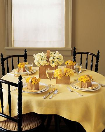 table setting martha stewart