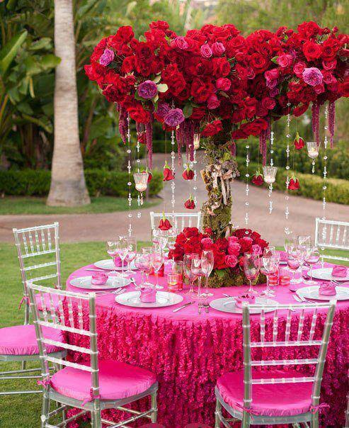 Temi per il matrimonio rosa appunti di