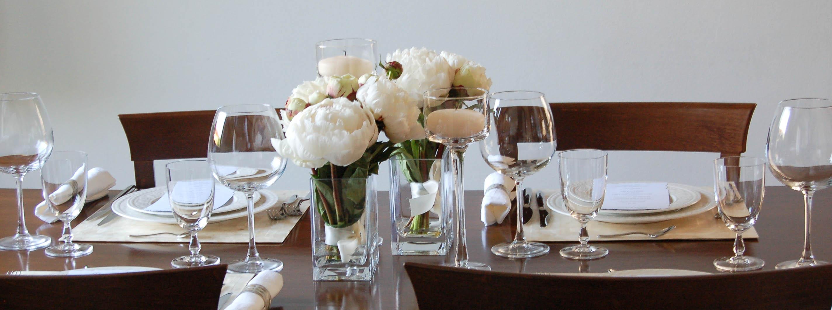 Allestimento appunti di matrimonio - A tavola con amici ...