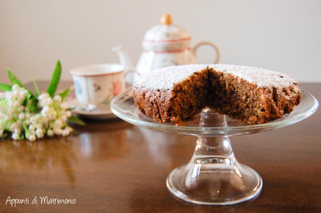 Torta Mandorle, Cioccolato e Carote