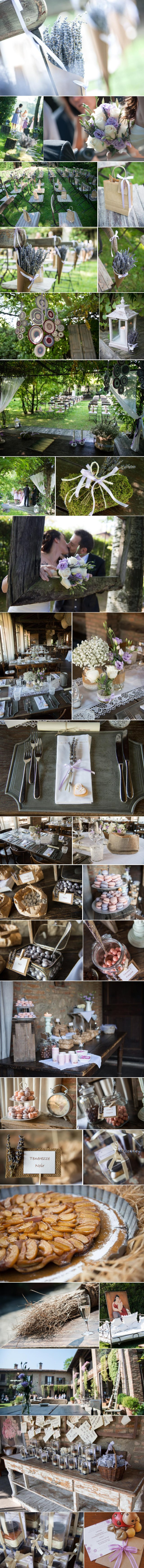 Matrimonio Lavanda Country Chic